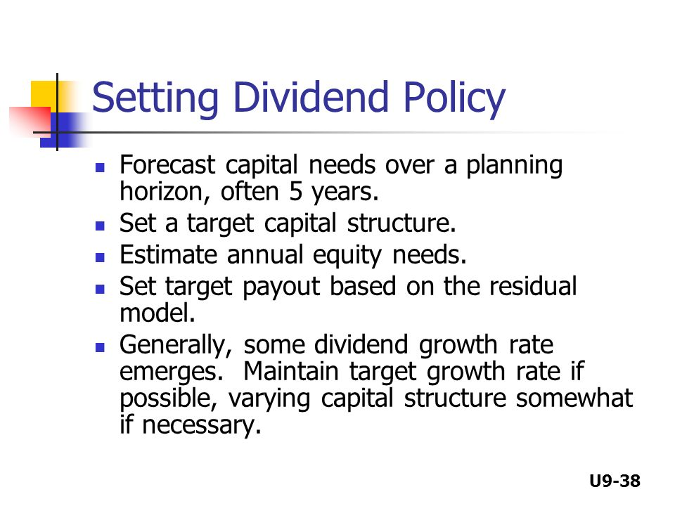 capital structure and dividend policy analysis Key words: capital structure decisions, dividend policy, organization  analysis  of us industries by brigham and ehrhardt (2001) revealed.