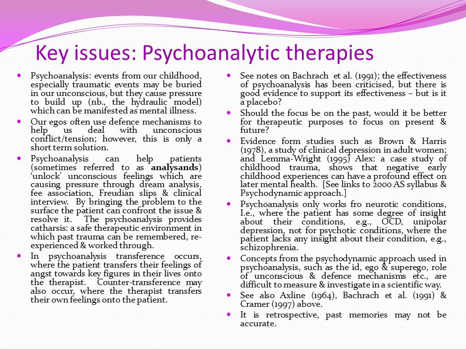 psychoanalytic case study of preston Case study of ana based on freud: psychoanalytic theory overview (case study sample.