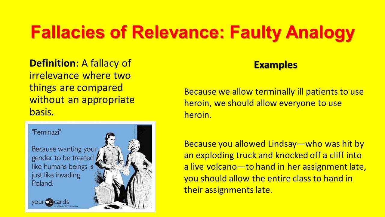 Examples Of Fallacies Idealstalist