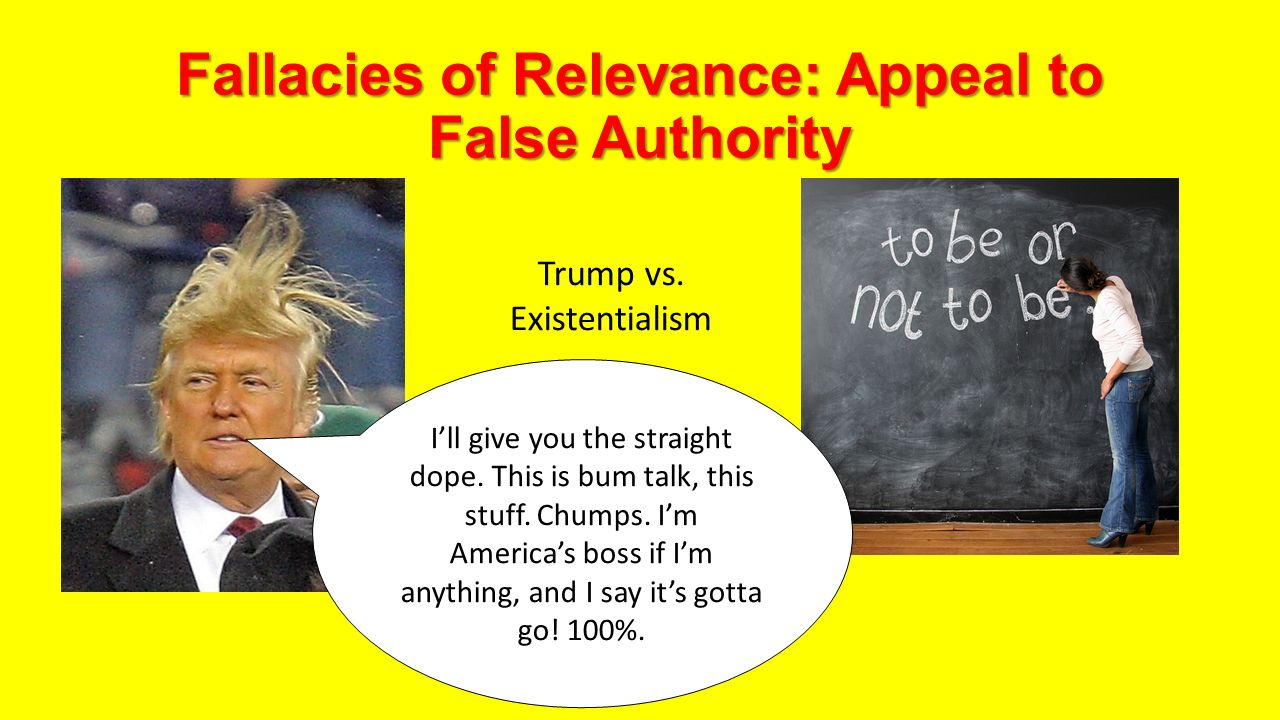 Examples Of Fallacies Appeal To Authority Coursework Service