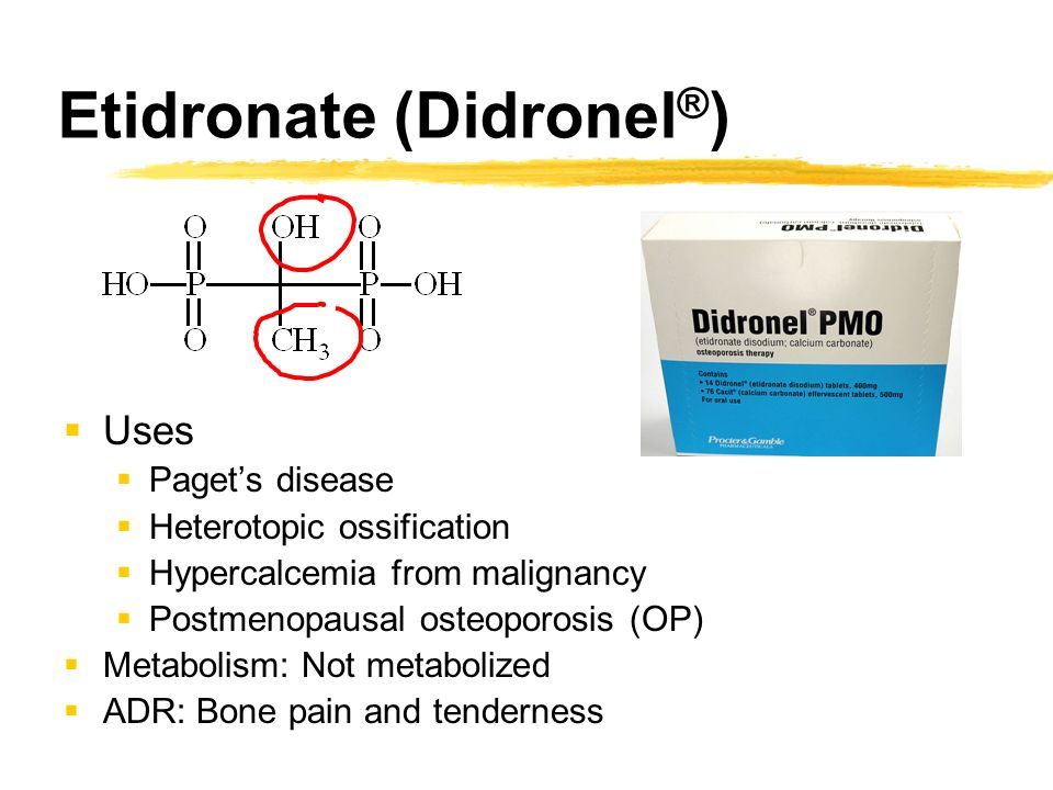 Etidronate disodium – Blog about body and health