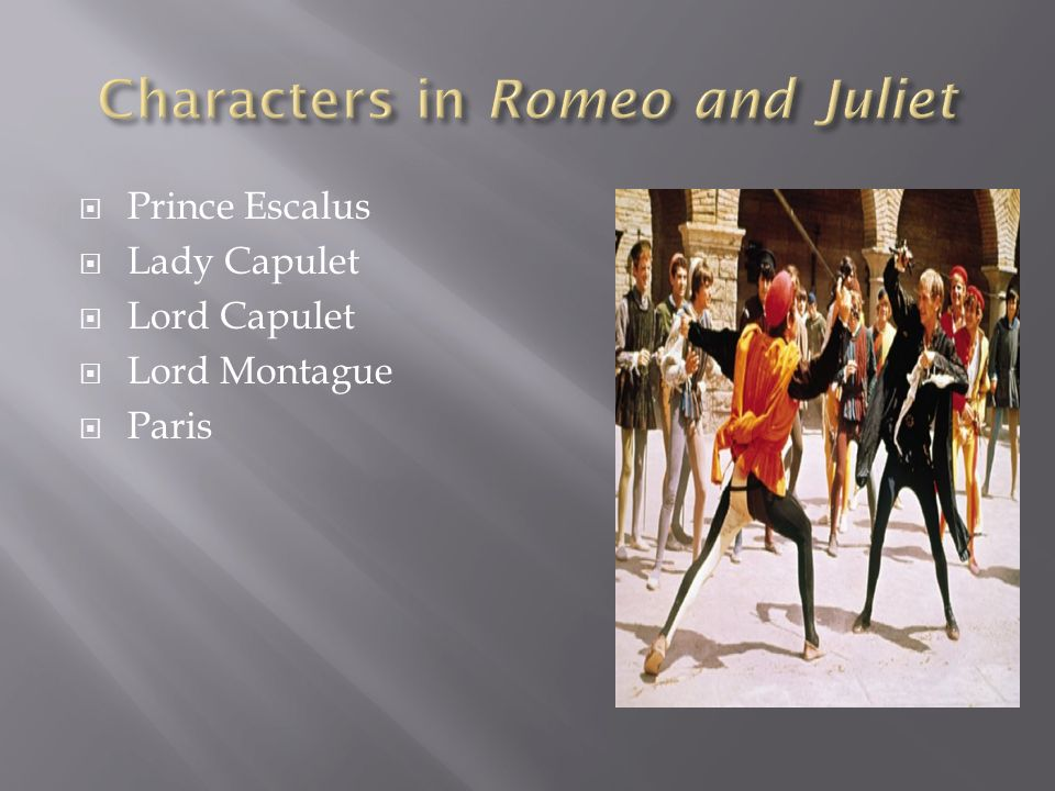 romeo and juliet characters review Wonderful, but a little too mature for some kids read common sense media's romeo and juliet review, age rating, and parents guide.