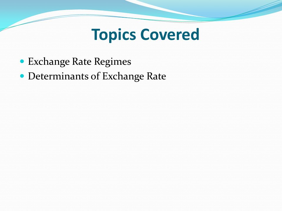 solutions for determinants of exchange rates Macroeconomic determinants of real exchange rates william h branson nber working paper no 801 issued in november 1981 nber program(s):international.