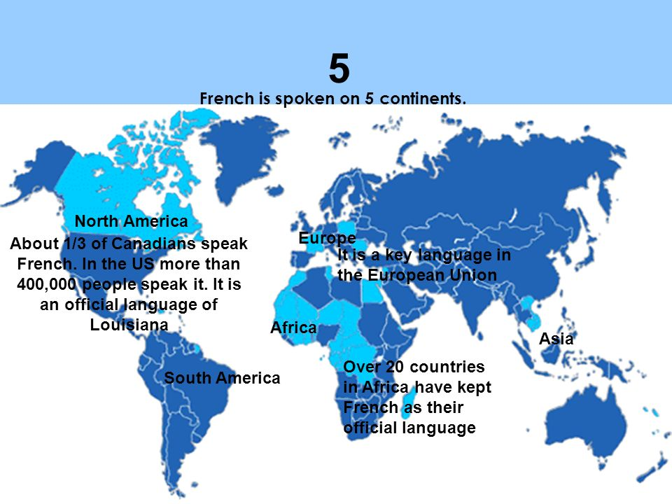 Why Speak French ppt video online download