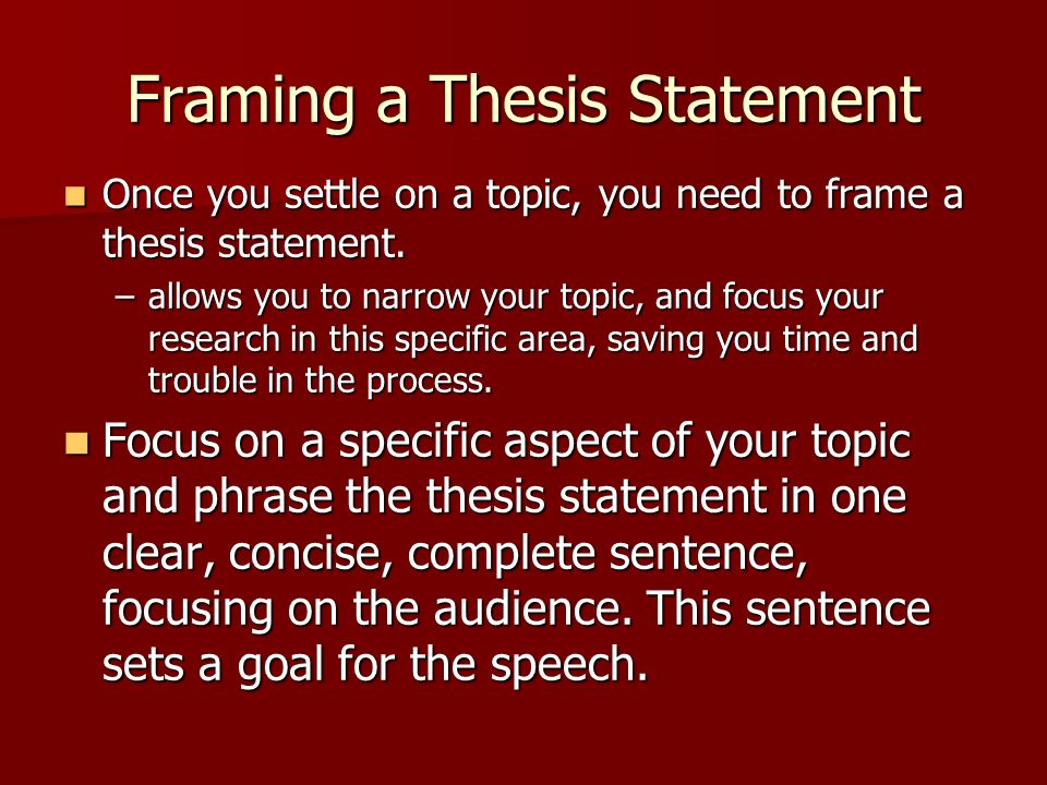 thesis for recycling speech