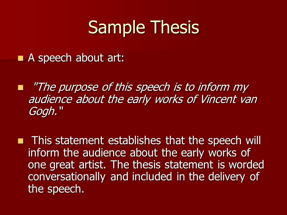 thesis about art Guidelines for writing a thesis or dissertation  contents: guidelines for writing a thesis or dissertation, linda childers hon, phd outline for empirical master's theses, kurt kent, phd.