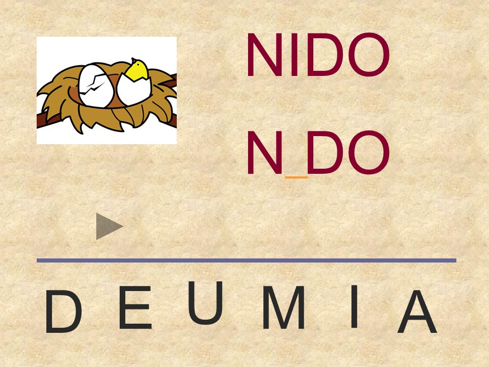 NIDO NIDO _ U E M I D A