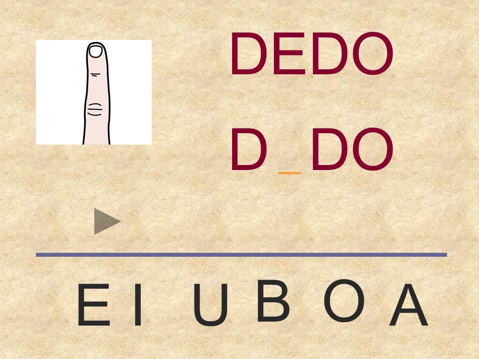 DEDO DEDO _ B O E I U A