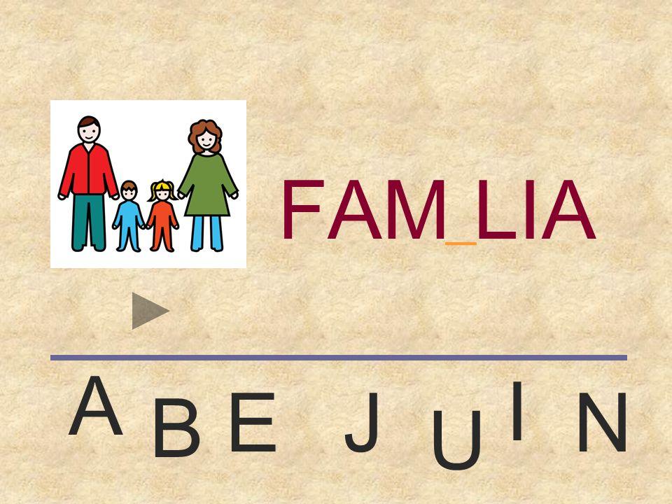FAMILIA _ A I E J N B U