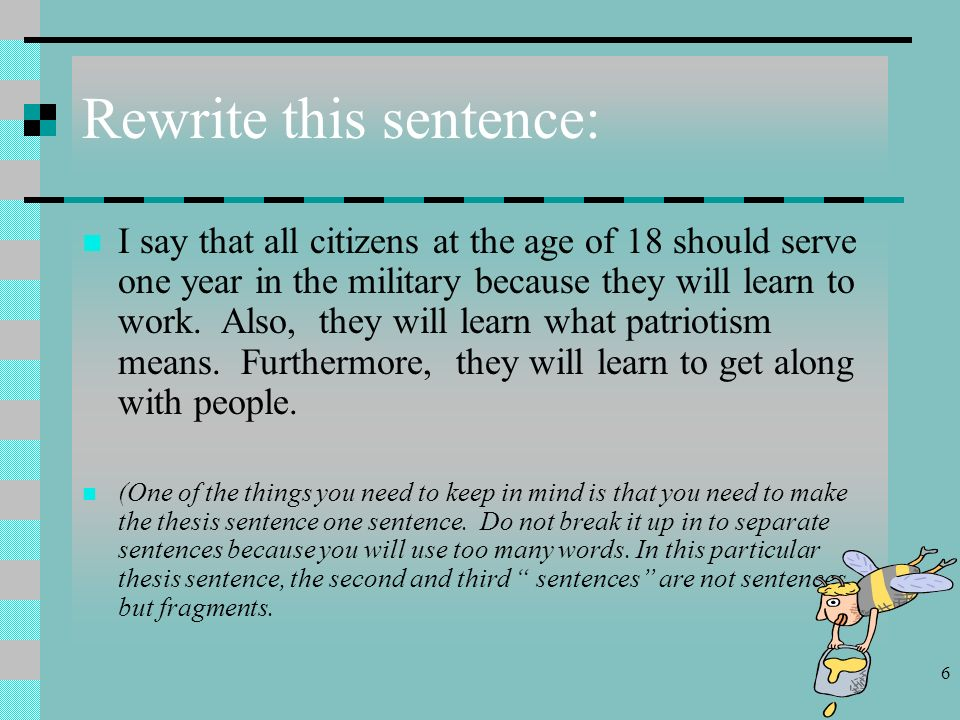 good thesis for argumentative papers