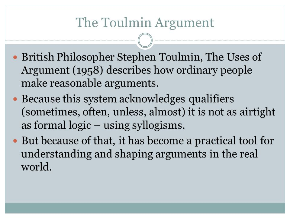 Structuring Arguments - ppt video online download