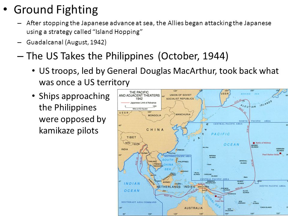 Ground Fighting The US Takes the Philippines (October, 1944)