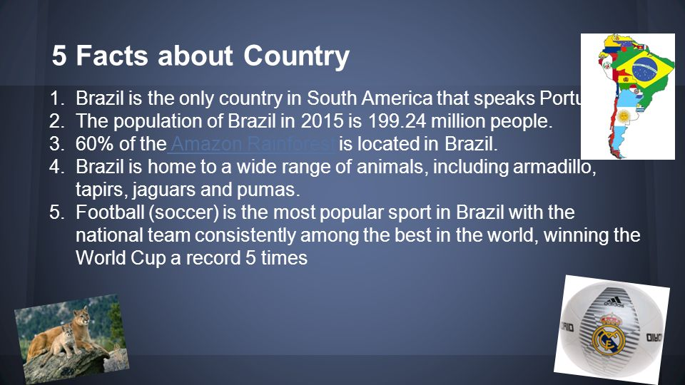 National facts of Brazil