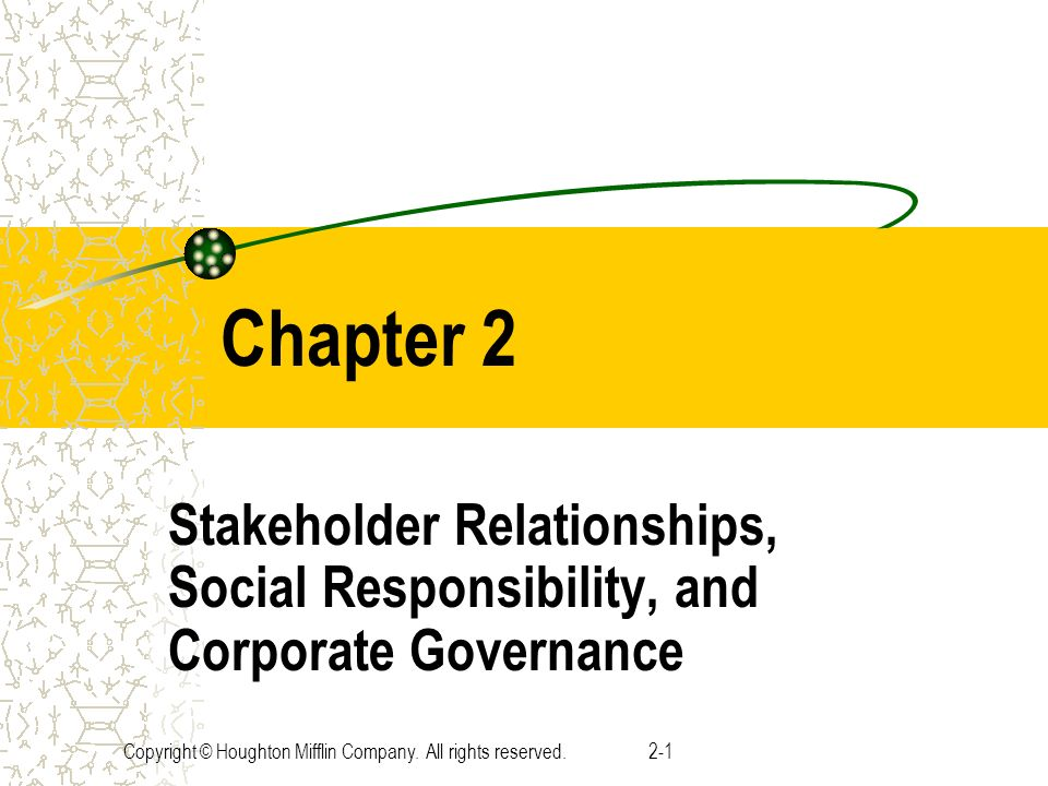 starbucks primary stakeholders corporate governance issues Corporate governance and economic issues (such issues often referred to as corporate social responsibility  and its stakeholders (not all csr issues that a.