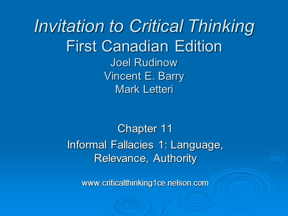 fallacies of relevance critical thinking Read this english research paper and over 88,000 other research documents understanding how fallacies, critical thinking and decision making techniques are all linked togethe how it all comes together 1 understanding how fallacies, critical thinking and decision making techniques are all.