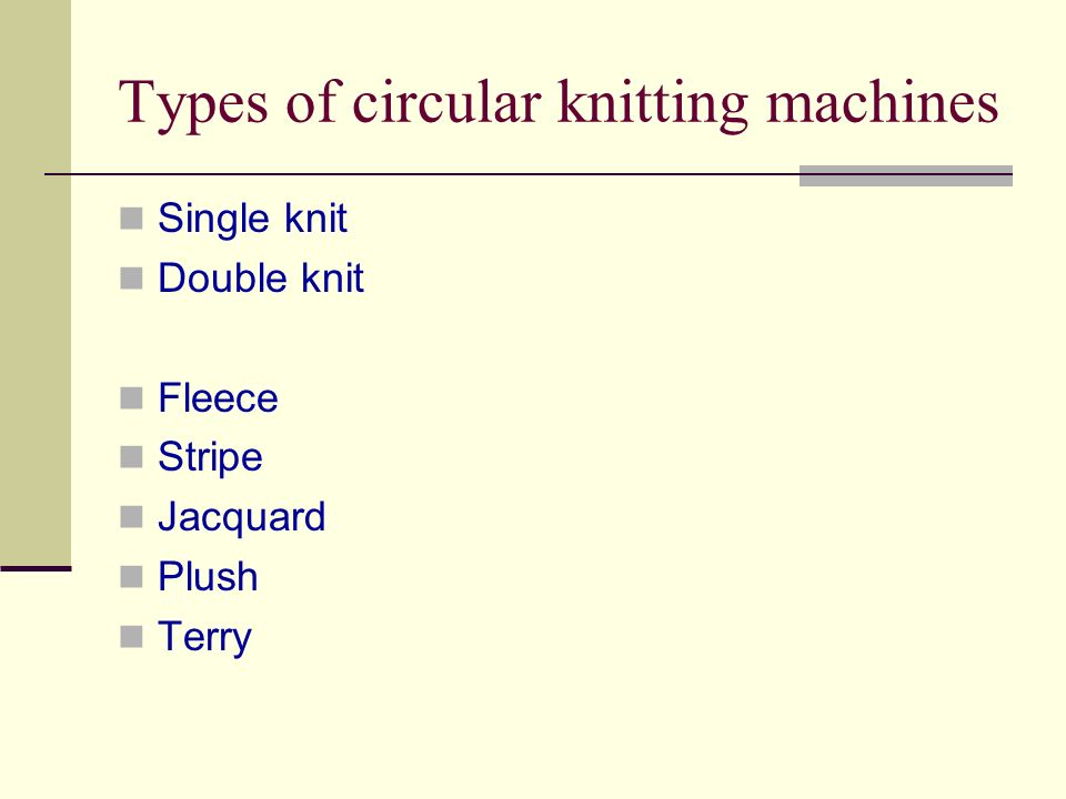 Knitting Oil Specifications : Lecture knitting elements and basic
