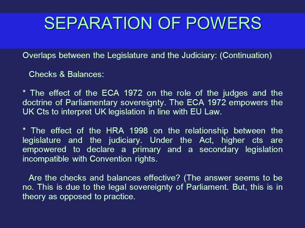 separation of powers and checks and balances essay Thomas petersen ratifying the constitution i believe that the constitution is needed because it sets the basic principles upon which the government will operate it lays out six basic principles, which are, popular sovereignty, limited government, checks and balances, separation of powers, judicial review, and.