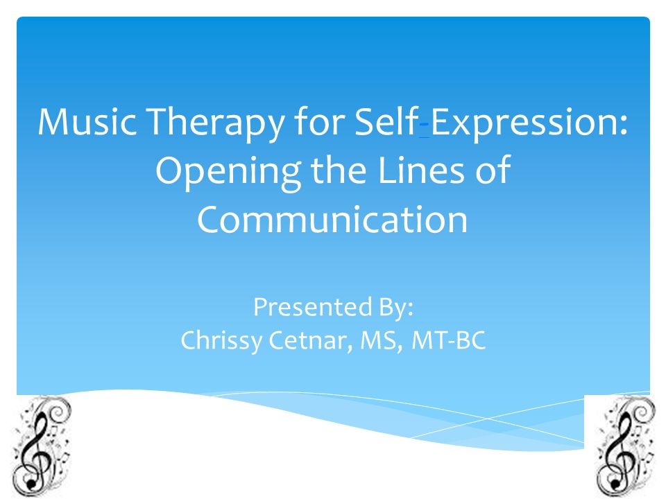 how to use music for self expression Free and custom essays at essaypediacom take a look at written paper - self expression in music essay sample.
