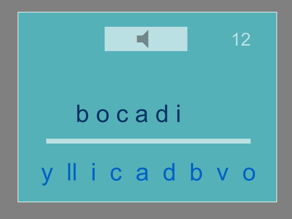 12 b o c a d i ll o y ll i c a d b v o