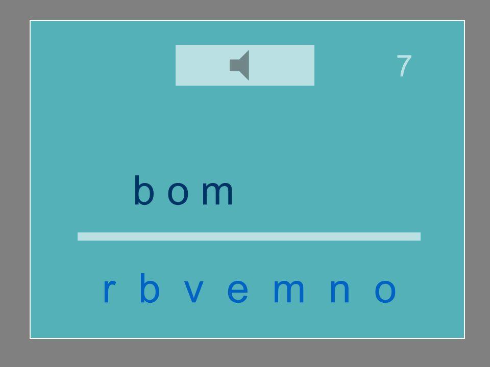 7 b o m b e r o r b v e m n o