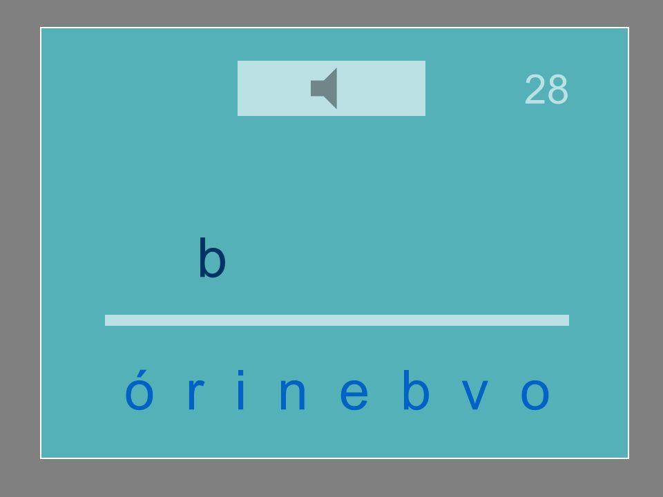 28 b i b e r ó n ó r i n e b v o