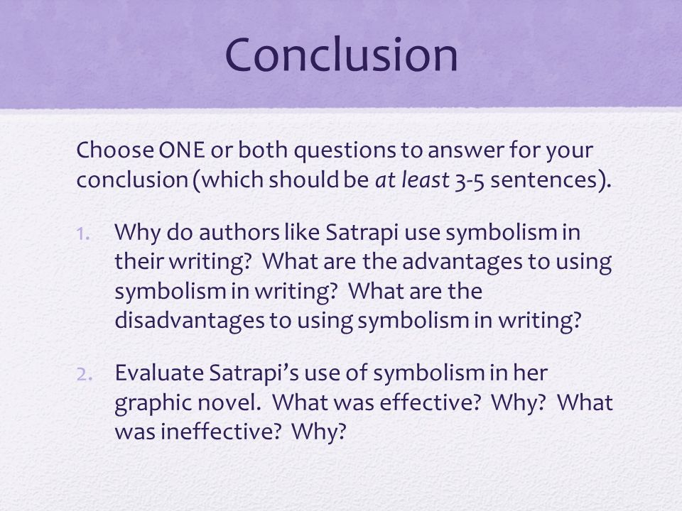 persepolis analytical analysis essay ppt video online 7 conclusion