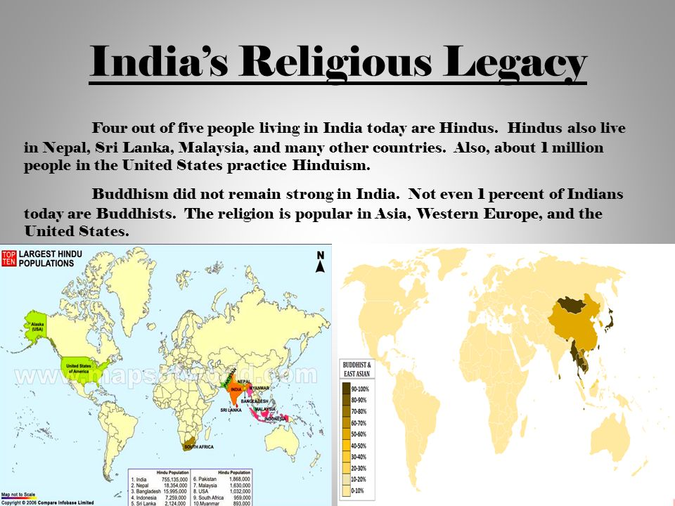 Hinduism and buddhism in the united states essay