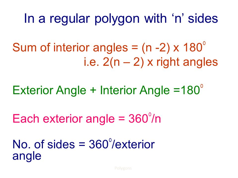 What Does The Word Polygon Mean Ppt Download
