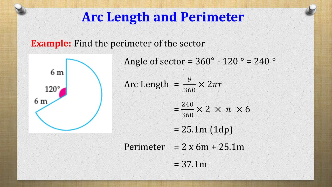 Arc Length And Perimeter