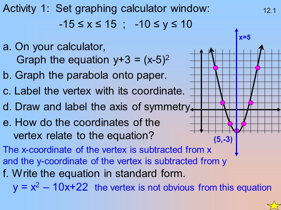 Three Points Parabola Calculator