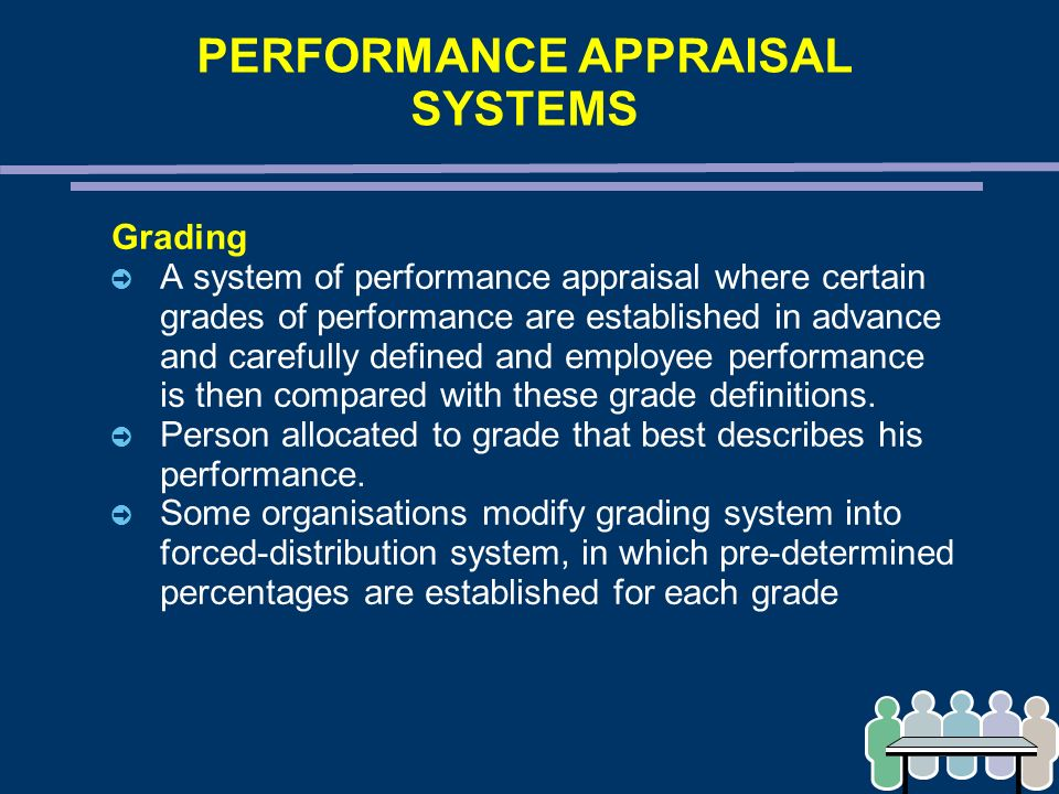 how to develop performance appraisal system