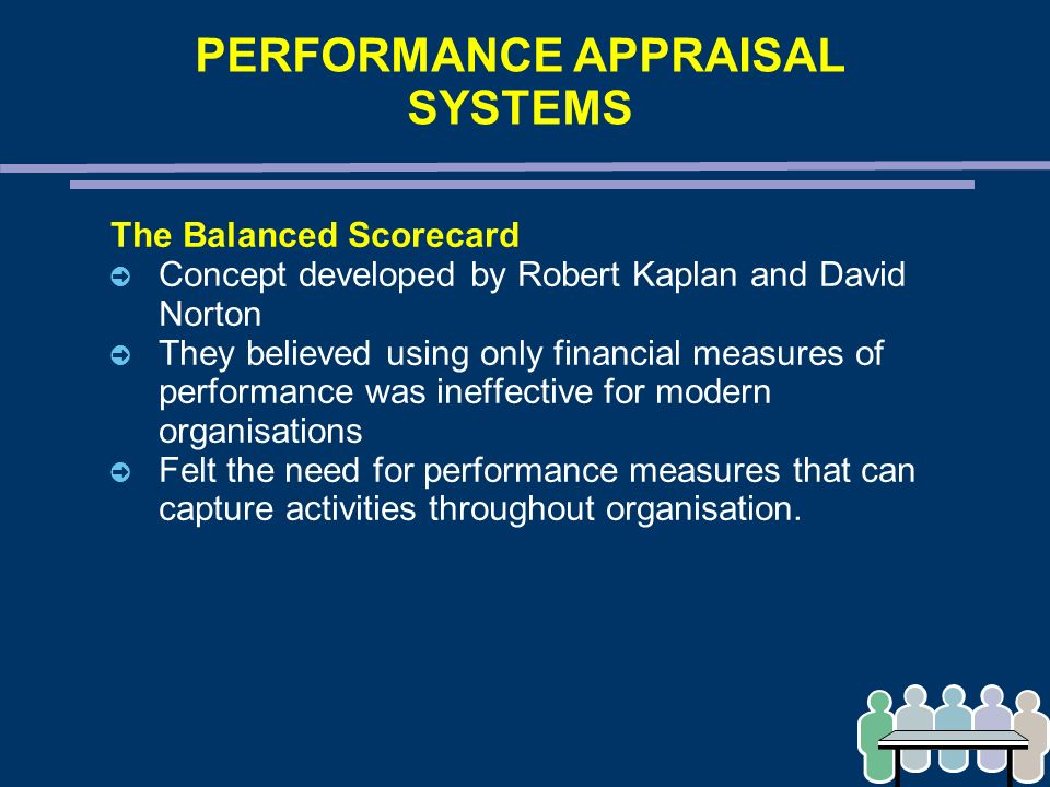 the performance appraisal systems performance Performance appraisals wouldn't be the least popular practice in business, as they're widely believed to be, if something weren't fundamentally wrong with them.