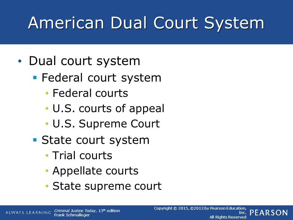 dual court system
