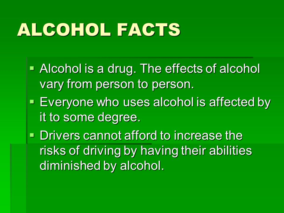 an analysis of the major risks of drinking and driving At least one of the main findings was specifically related to binge or heavy   meta-analyses and systematic reviews (definitions are provided in the  the risk  and protective factors that drive binge drinking in your community.