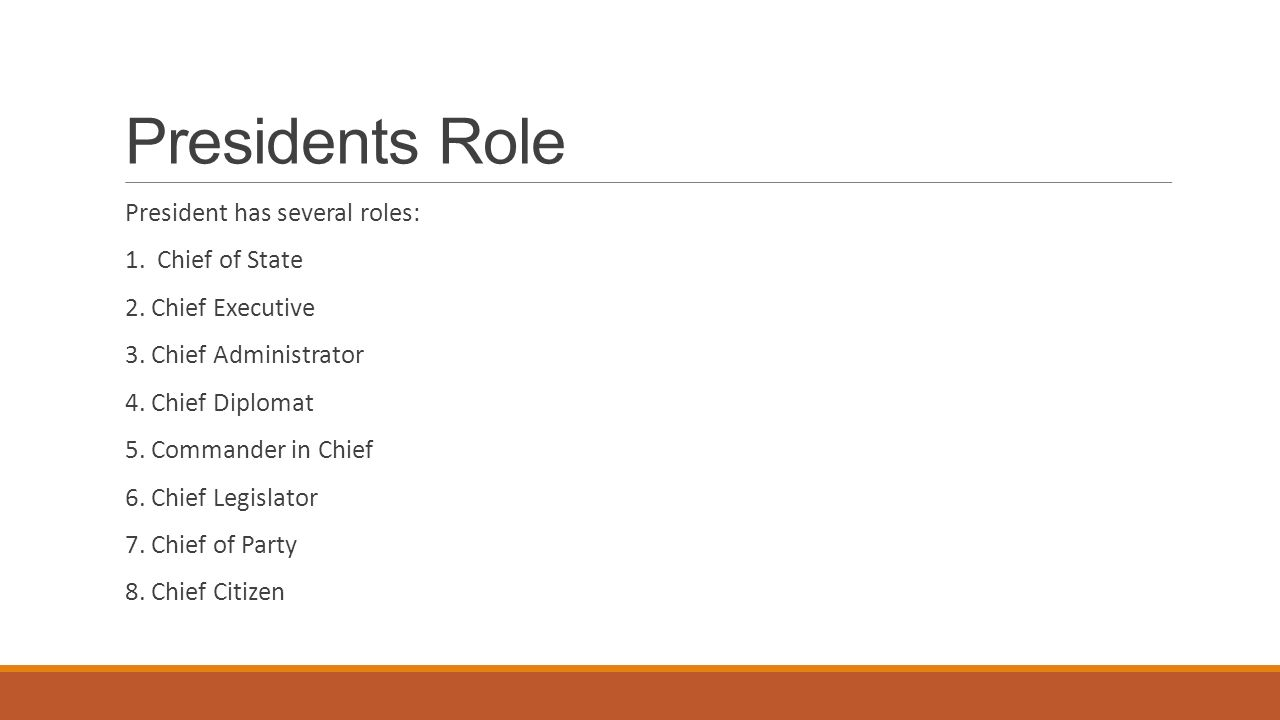 Worksheets Roles Of The President Worksheet the presidents job description ppt download role president has several roles 1 chief of state