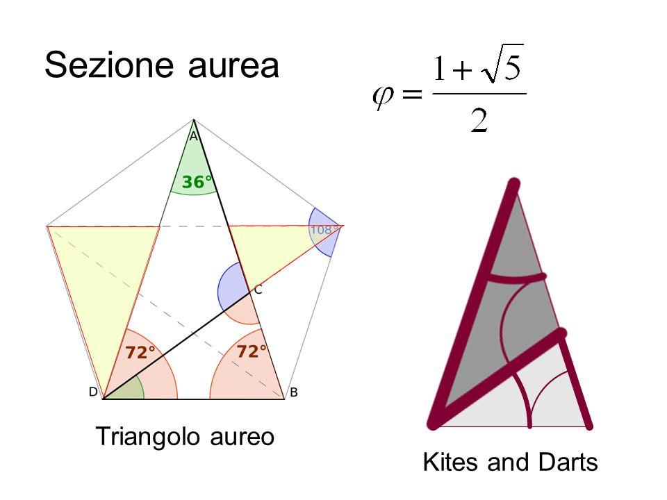 Sezione aurea Triangolo aureo Kites and Darts