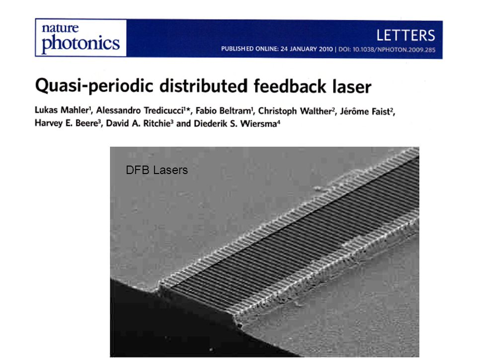 DFB Lasers