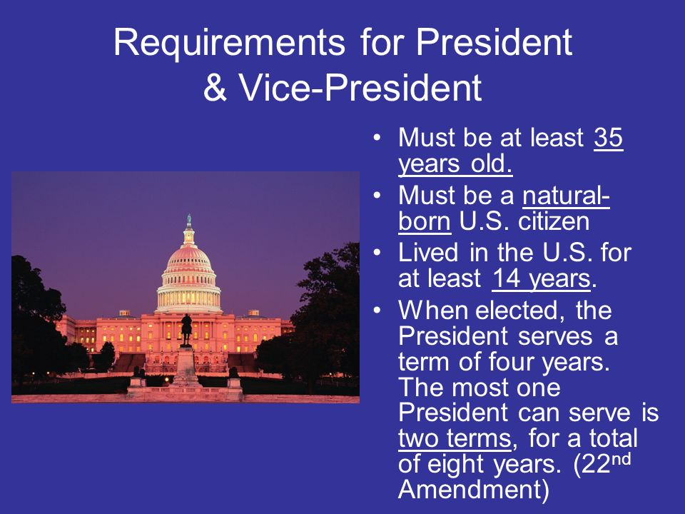 United states government ppt download for How many times can a president be elected to office