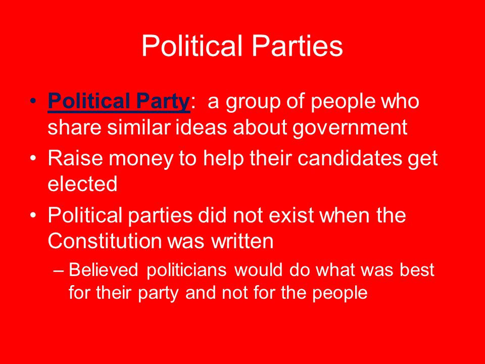 """""""do political parties help or hurt When two political parties dominates nearly all of the elections, thereby placing only the two parties in spots of power, this is called a two-party system within these two parties one is always known as a 'majority party', and the other is known as a 'minority party' the united states is known ."""