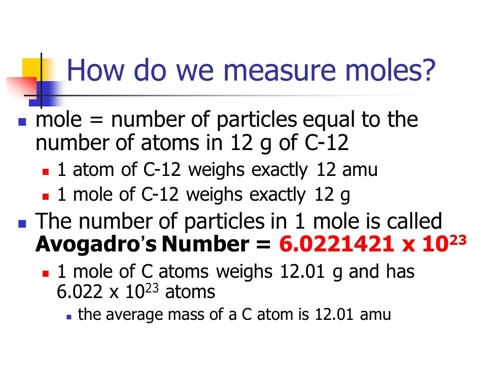 how to find number of atoms from moles