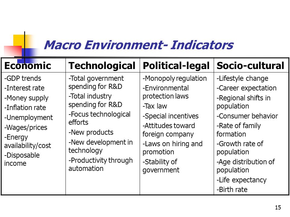 What is Macro Environment? Paper