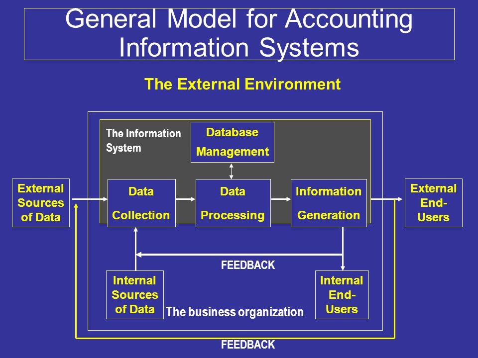 System Of Systems For Data : Accounting information systems introduction ppt video