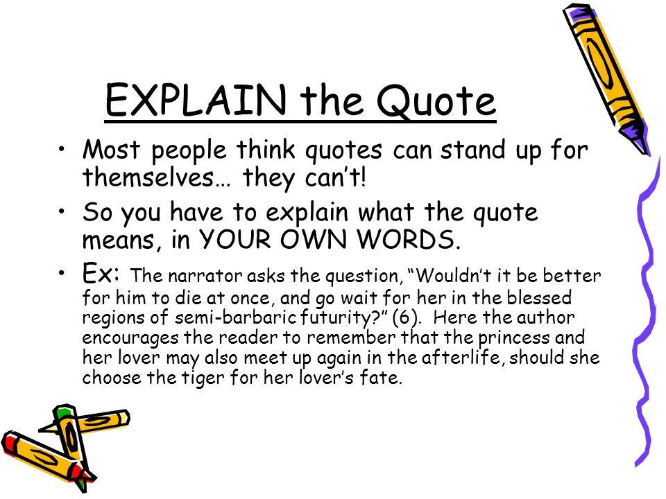 Six word essay npr wait