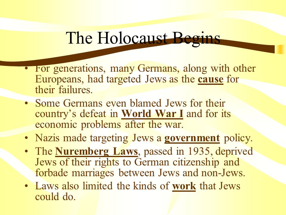 The Holocaust Chapter 16 Section Ppt Download