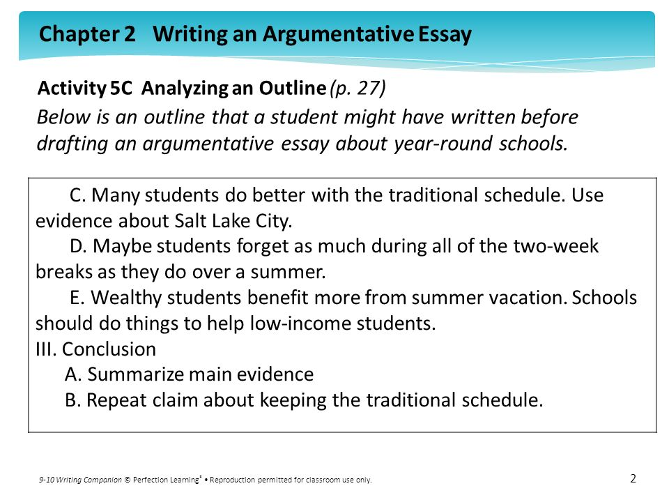activity c analyzing an outline p ppt  activity 5c analyzing an outline p 27