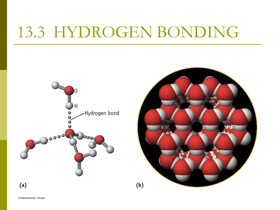 characteristics of intermolecular bonding Ap chemistry intermolecular forces liquids & solids physical properties such as melting points, boiling points forces, hydrogen bonds hydrogen bonds are not true bonds they are just forces of attraction that exist.