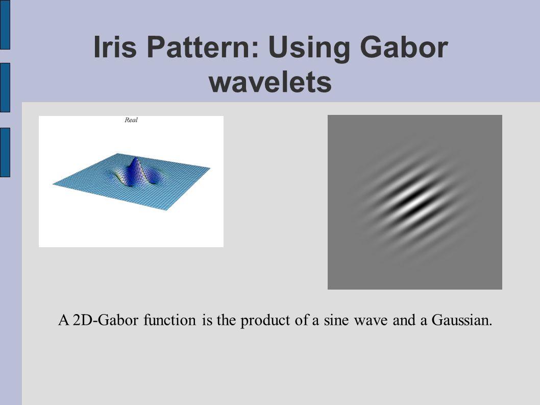 Iris Pattern: Using Gabor wavelets