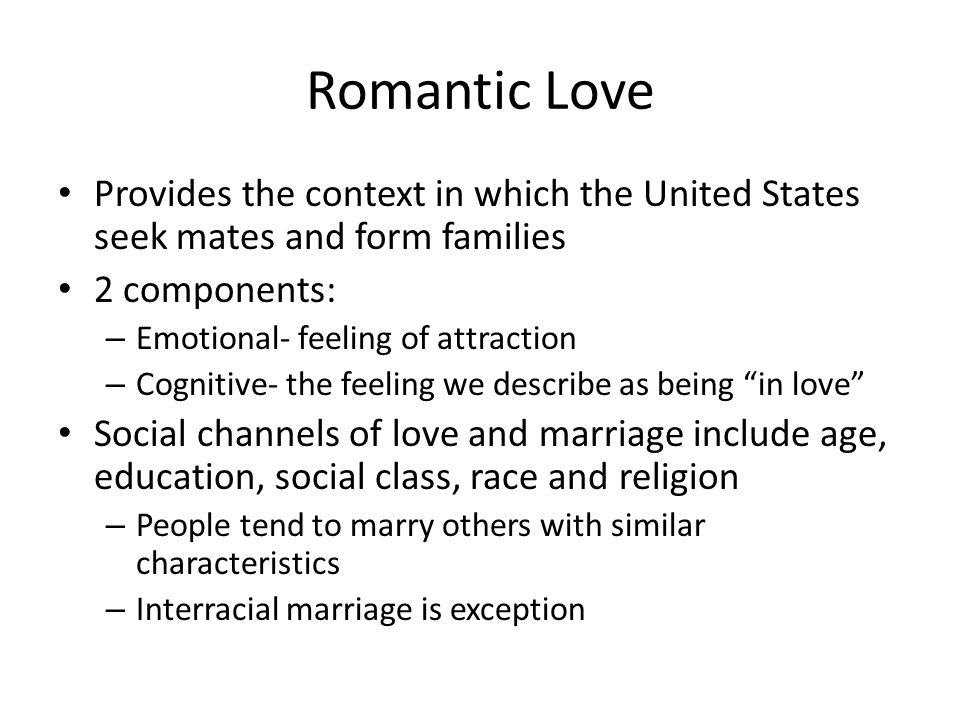 marriage and family relationship in social context