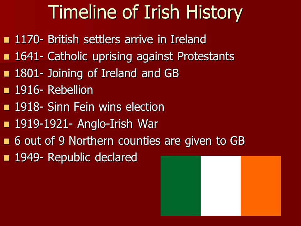 The Northern Ireland Conflict 1968-1998 – An Overview