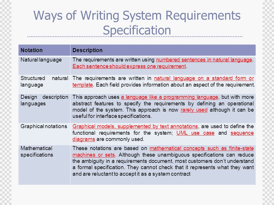 fantastic user requirements specification template crest